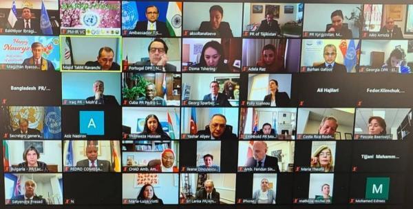 پیغام نوروز نفی خشونت، دشمنی و یکجانبه گرایی